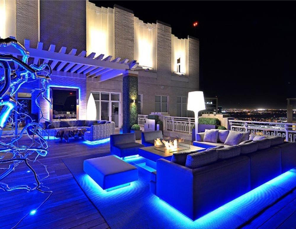 Blue LED Strip Lighting