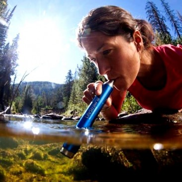 Water Purifying Straw by LifeStraw